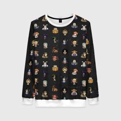 One Piece. Pixel art pattern.