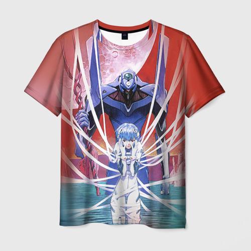 Мужская футболка 3D  Фото 01, Евангелион 3