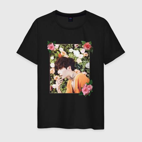 Мужская футболка хлопок Ли Чон Сок Фото 01