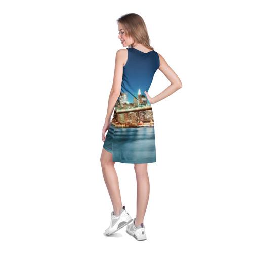 Платье-майка 3D  Фото 04, Огни ночного города