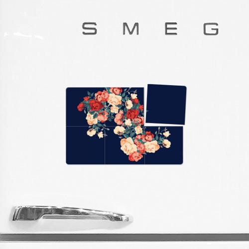 Магнитный плакат 3Х2  Фото 02, Fashion flowers