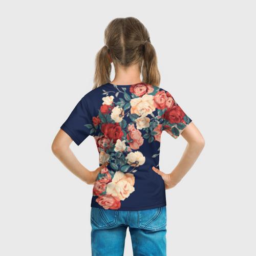 Детская футболка 3D Fashion flowers Фото 01