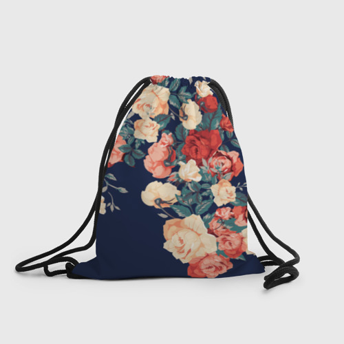 Рюкзак-мешок 3D Fashion flowers Фото 01