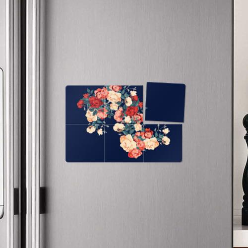 Магнитный плакат 3Х2  Фото 04, Fashion flowers