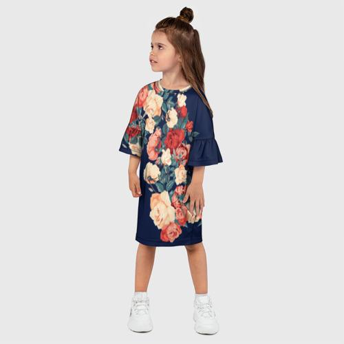 Детское платье 3D Fashion flowers Фото 01