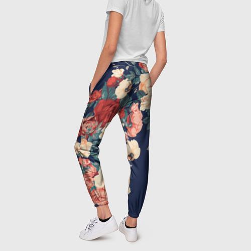 Женские брюки 3D Fashion flowers Фото 01