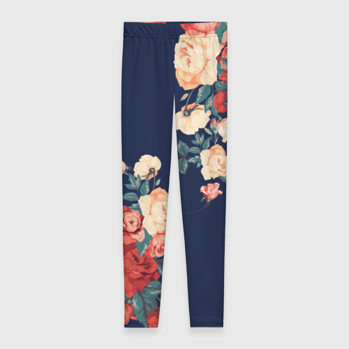Леггинсы 3D Fashion flowers Фото 01