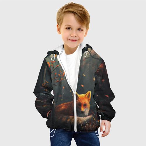 Детская куртка 3D  Фото 03, Лиса