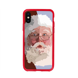 Санта Клаус в стиле WPAP