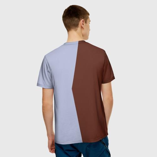 Мужская футболка 3D  Фото 02, Санта Клаус в стиле WPAP