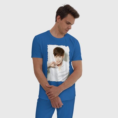 Мужская пижама хлопок Ли Чон Сок Фото 01