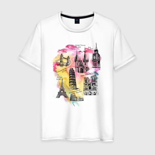 Мужская футболка хлопок Architect
