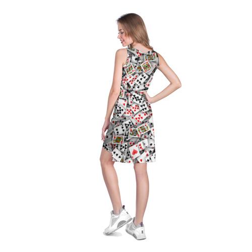 Платье-майка 3D  Фото 04, Игральные карты 3