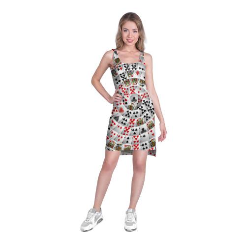 Платье-майка 3D  Фото 03, Игральные карты 3