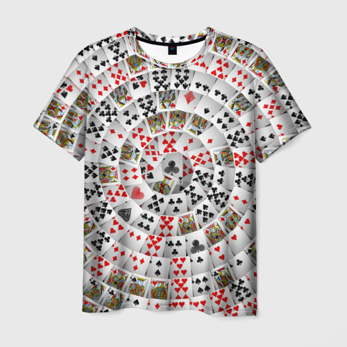 Мужская футболка 3D  Фото 03, Игральные карты 3