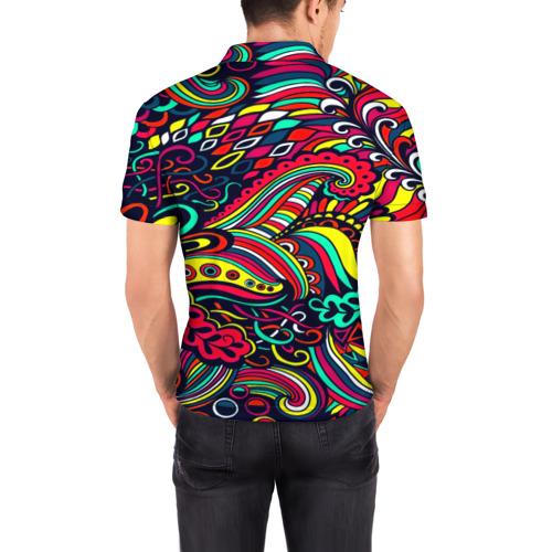 Мужская рубашка поло 3D  Фото 04, Disquared
