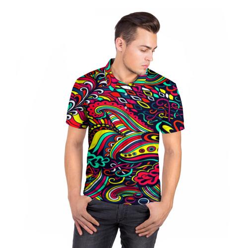 Мужская рубашка поло 3D  Фото 05, Disquared
