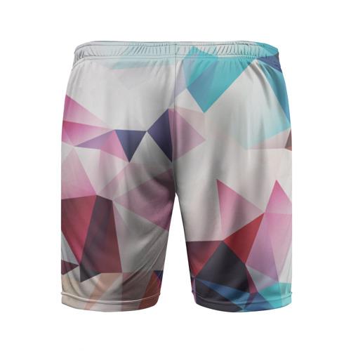 Мужские шорты 3D спортивные  Фото 02, LOW POLY