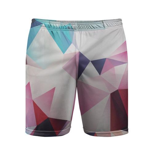 Мужские шорты 3D спортивные  Фото 01, LOW POLY
