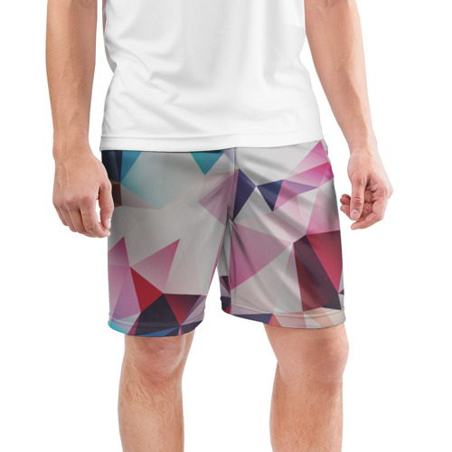 Мужские шорты 3D спортивные  Фото 03, LOW POLY