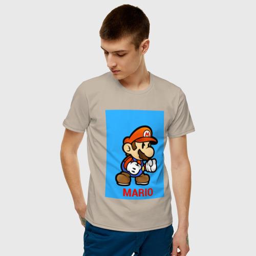 Мужская футболка хлопок SUPERMARIO Фото 01