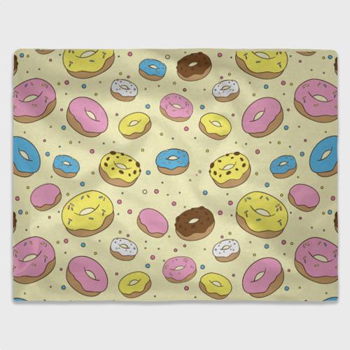Плед 3D Сладкие пончики Фото 01