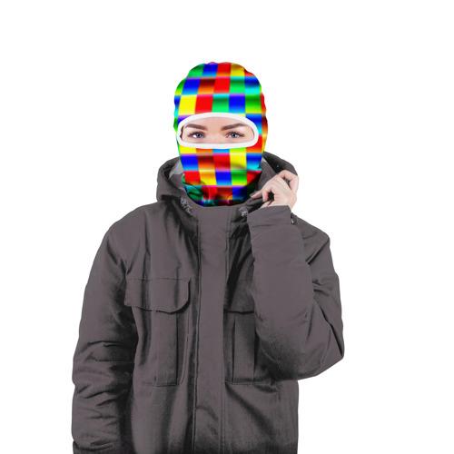 Балаклава 3D  Фото 04, Кубики