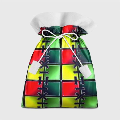 Подарочный 3D мешок  Фото 01, Шов