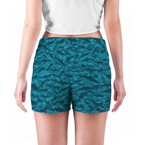 Женские шорты 3D  Фото 04, Акулы