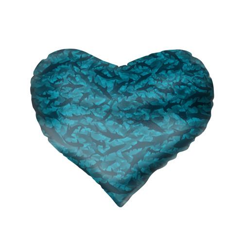 Подушка 3D сердце  Фото 02, Акулы