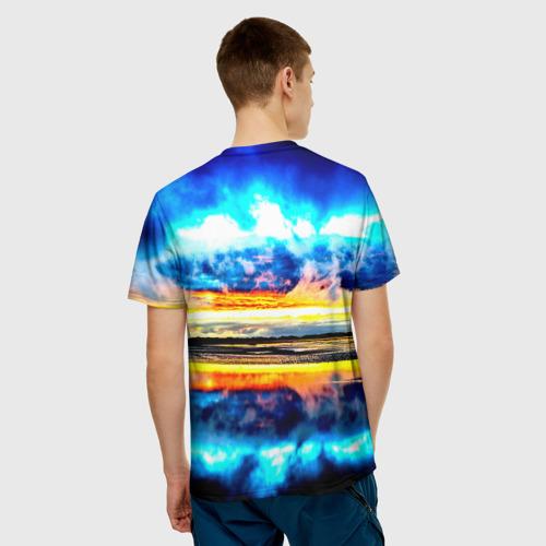 Мужская футболка 3D  Фото 02, Озеро