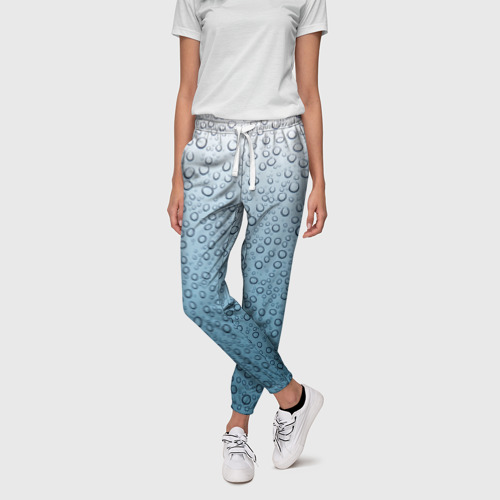 Женские брюки 3D капли