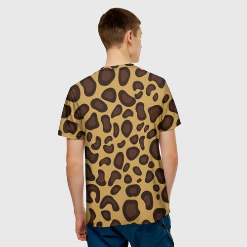 Мужская футболка 3D  Фото 02, Шкура леопарда