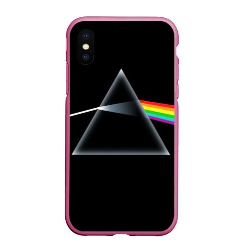 Чехол для iPhone XS Max матовый Pink floyd Фото 01