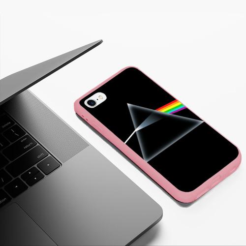 Чехол для iPhone 6Plus/6S Plus матовый Pink floyd Фото 01