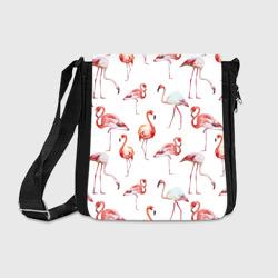Узор из фламинго