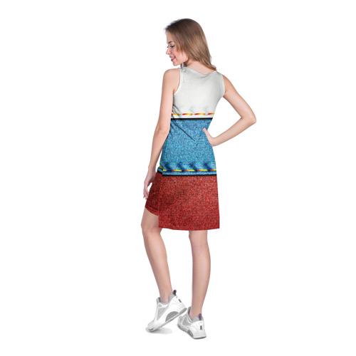 Платье-майка 3D  Фото 04, Триколор