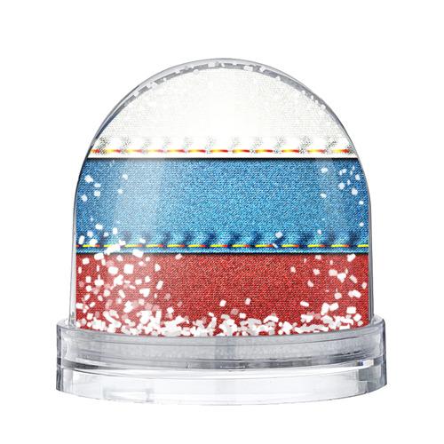 Водяной шар со снегом  Фото 01, Триколор