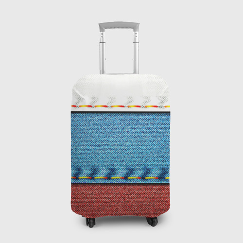 Чехол для чемодана 3D Триколор Фото 01