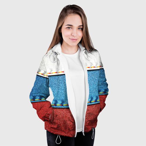 Женская куртка 3D Триколор Фото 01