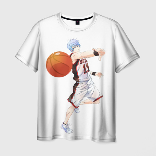 Мужская футболка 3D  Фото 01, Баскетбол Куроку
