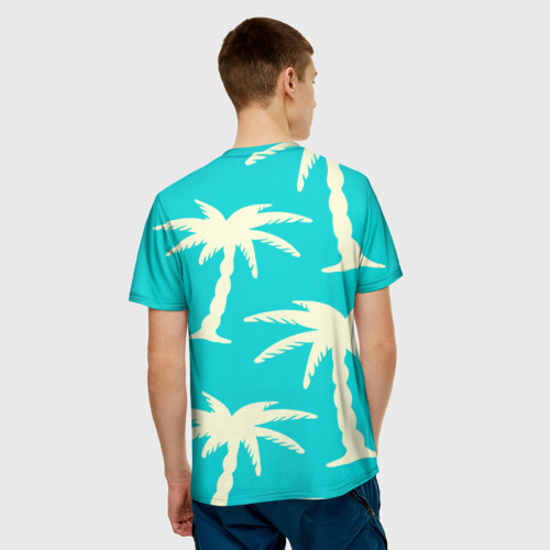 Мужская футболка 3D  Фото 02, Пальмы