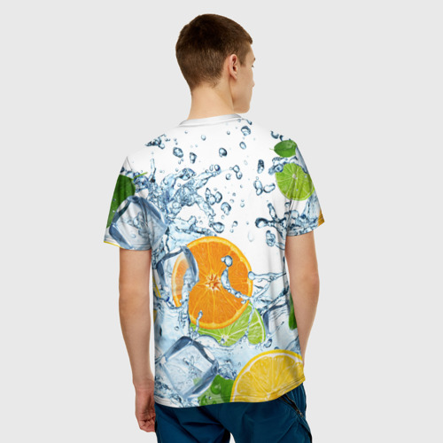 Мужская футболка 3D  Фото 02, Мульти фрукт