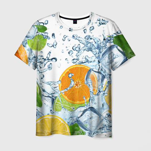 Мужская футболка 3D  Фото 01, Мульти фрукт