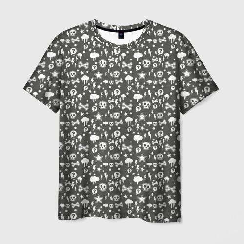 Мужская футболка 3D  Фото 01, Ужастики 2