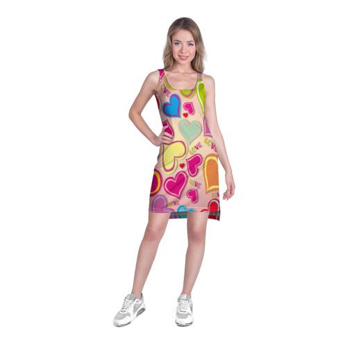 Платье-майка 3D  Фото 03, Меньше чем три