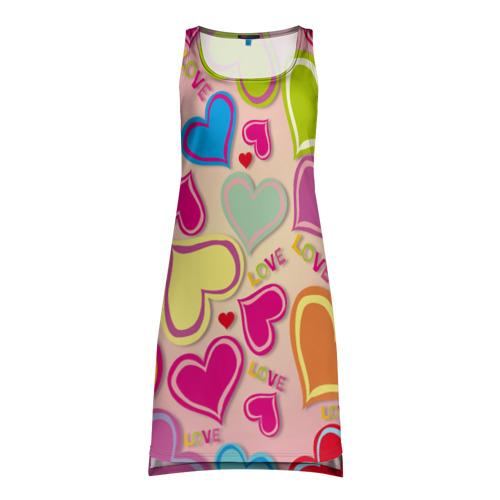 Платье-майка 3D  Фото 01, Меньше чем три
