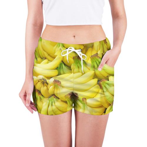 Женские шорты 3D  Фото 03, бананы