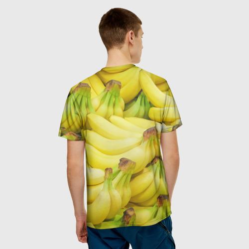 Мужская футболка 3D  Фото 02, бананы