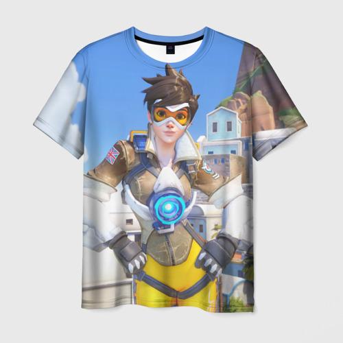 Мужская футболка 3D  Фото 01, Трейсер